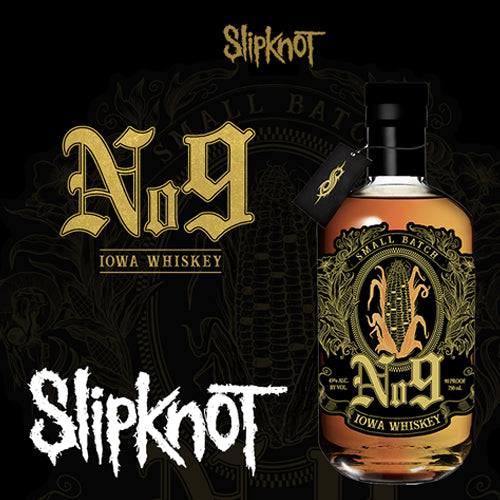 Slipknot No.9 Whiskey 70cl 45% ABV