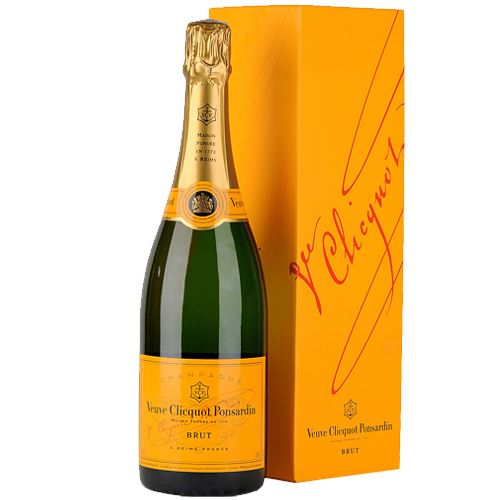 Veuve Clicquot Brut NV Champagne Yellow Label 75cl Gift Boxed 12% ABV