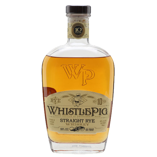 WhistlePig 10 Year Old Straight Rye Whiskey 37.5cl 50% ABV