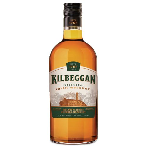 Kilbeggan Irish Whiskey 70cl 40% ABV