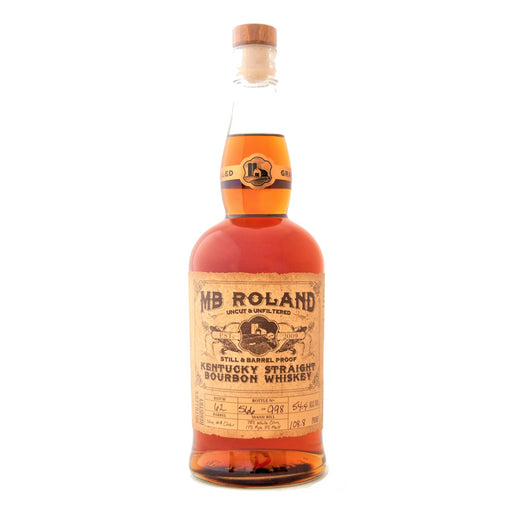 MB Roland Kentucky Straight Bourbon Whiskey 75cl 55.5% ABV