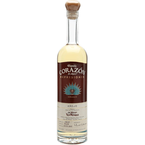 Corazon Expressiones Old Rip Van Winkle Anejo Tequila 70cl 40% ABV