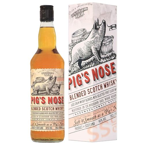 Pig's Nose Blended Scotch Whisky 70cl 40% ABV