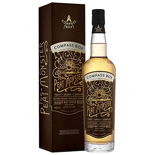 Compass Box 'The Peat Monster' Blended Malt Scotch Whisky 70cl 46% ABV