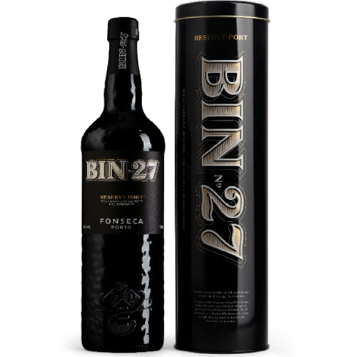Fonseca Bin 27 Premium Reserve Port 75cl  in Gift Tin