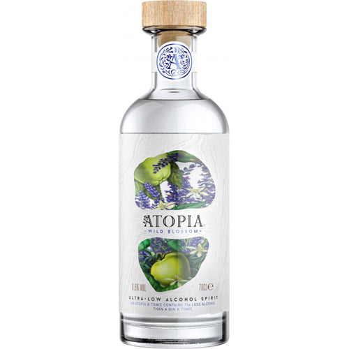 Atopia Wild Blossom Ultra-Low Alcohol Spirit 0.5% ABV 70cl