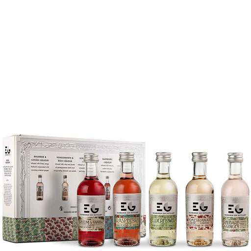 Edinburgh Gin Liqueur Miniature Gift Set 5 x 5cl 20% ABV