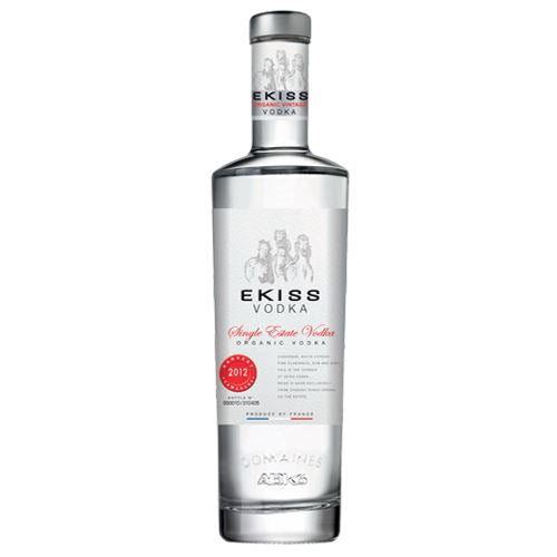 Ekiss Single Estate Organic Vintage Vodka 2012 70cl 40% ABV