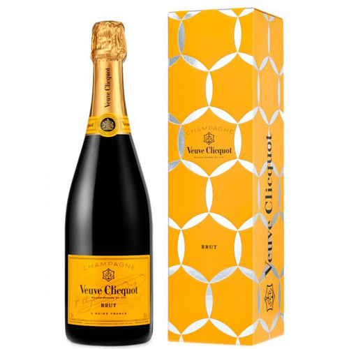 Veuve Clicquot Brut NV Champagne Yellow Label 75cl Comet Gift Boxed Limited Edition