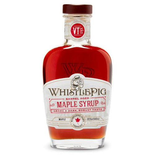 WhistlePig Barrel Aged Maple Syrup 37.5cl
