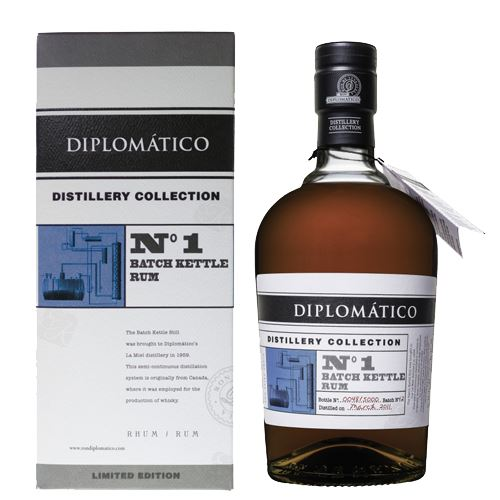 Diplomatico Collection Rum No 1 Batch Kettle 70cl