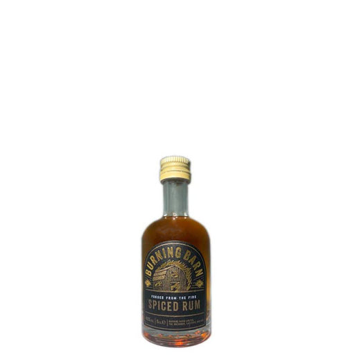 Burning Barn Spiced Rum Miniature 5cl 40% ABV