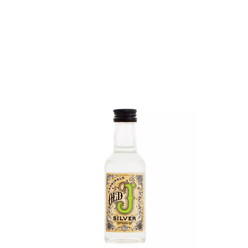 Old J Spiced Rum Silver Miniature 5cl 35% ABV