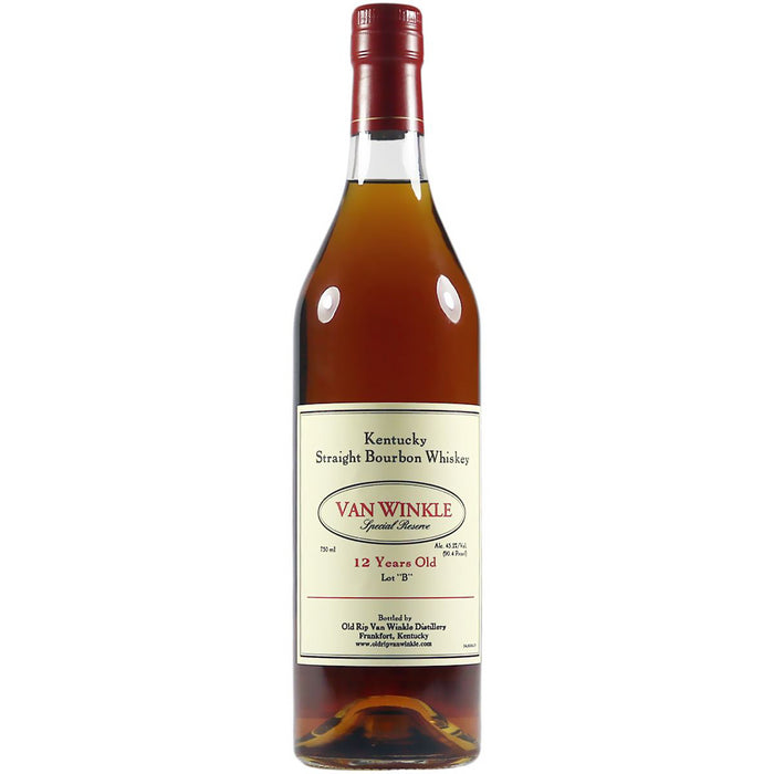 "Van Winkle 12 Year Old Special Reserve Lot ""B"" Bourbon 2020 Release 75cl 45.2% ABV"