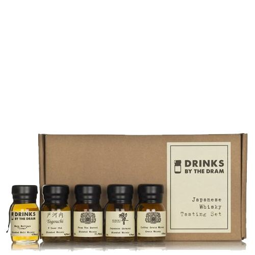 Drinks by the Dram Japanese Whisky Tasting Set 5x3cl 44.5% ABV