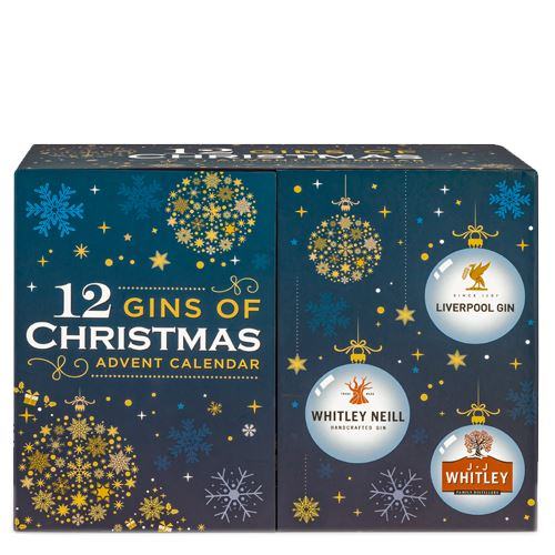 12 Gins of Christmas Advent Calendar 12x5cl