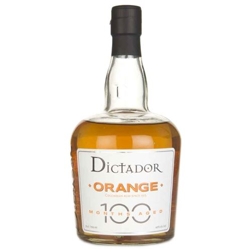 Dictador Orange Rum 100 Months Aged 70cl 40% ABV