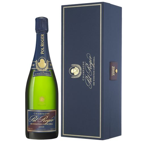 Pol Roger Sir Winston Churchill Vintage Champagne 2006 75cl