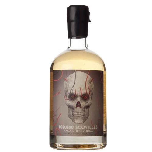 Naga Chilli Vodka - 100,000 Scovilles 70cl 40% ABV