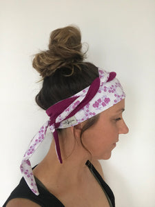 Dreaming of Magenta~ Original Headwrap