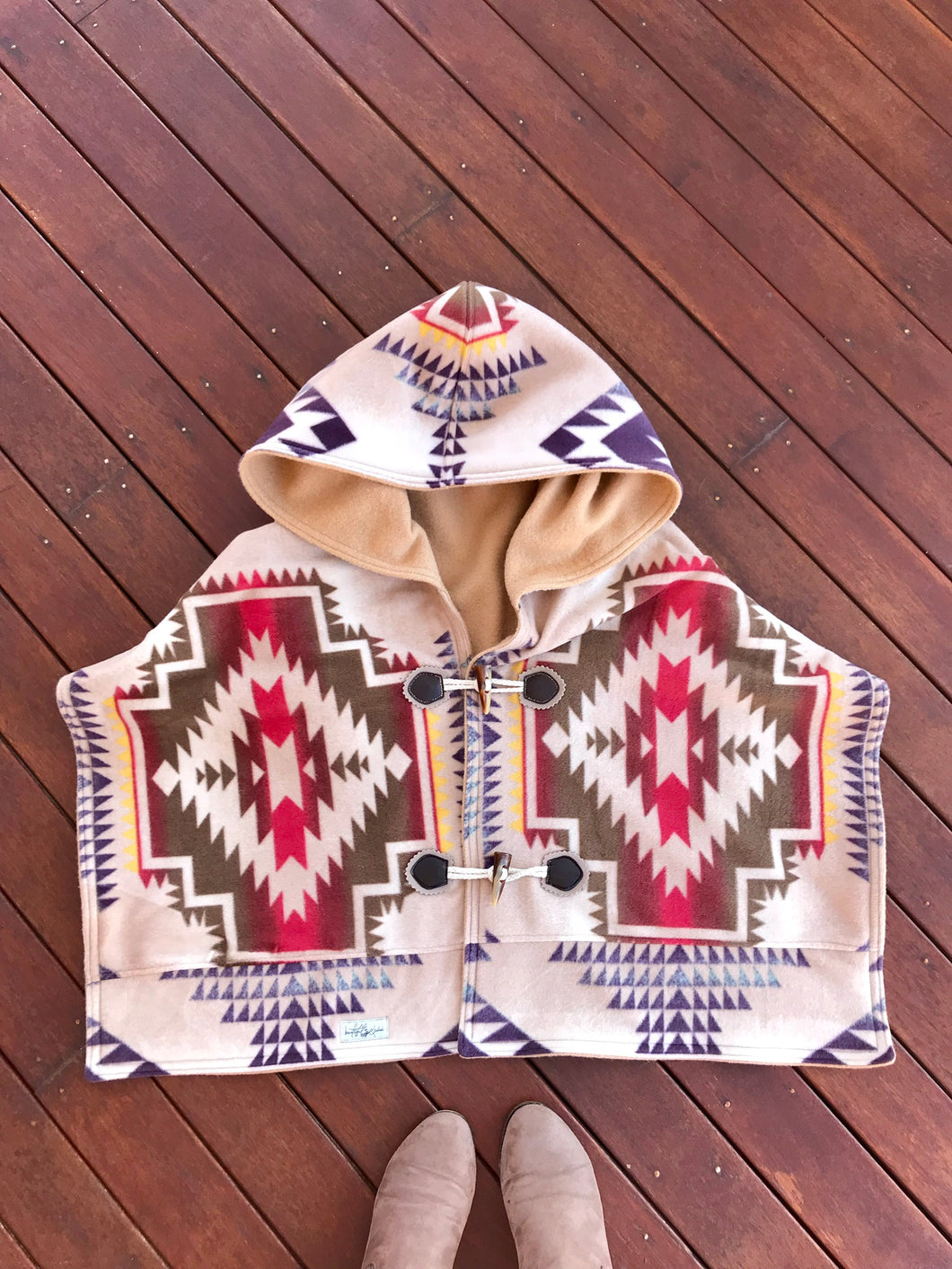Custom Hooded Shawl