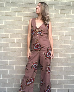Mother Earth Button Up Jumpsuit