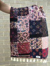 Load image into Gallery viewer, Vintage Patchwork Kantha Scarf