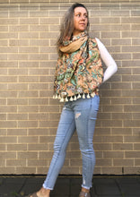 Load image into Gallery viewer, Peachy Keen Kantha Scarf