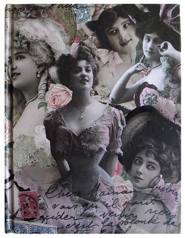 Vintage Postcards Journal - Notebook