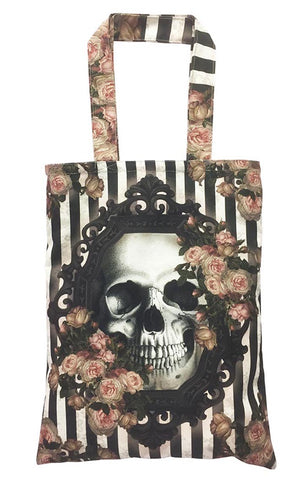 Victorian Gothic Organic Cotton Shopper Bag