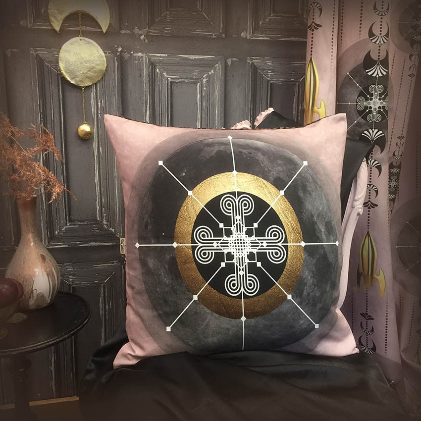 Luna Gold Cushion Cover