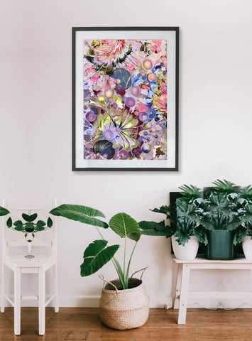 Limited Edition 'All The July's'  Fine Art Print - Wall Art