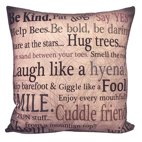 Say 'YES'  Cushion Cover