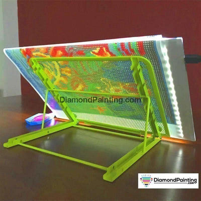 Ships From USA - A4 LED Diamond Painting Light Pad Tablet Holder - DiamondPainting.com