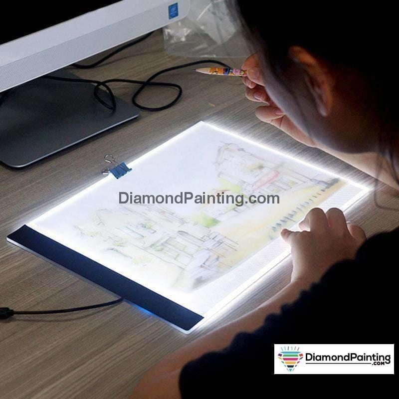 Ships From USA - Diamond Painting Light Tablet Ultra Thin - DiamondPainting.com