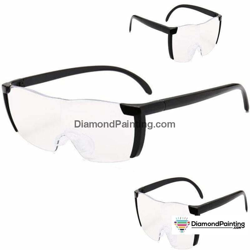 Ships from USA - Wearable Magnifying Glasses 160% Magnifier - DiamondPainting.com