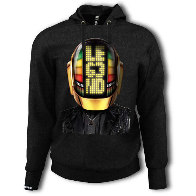 SUDADERA LEG3ND-DAFT PUNK GOLD