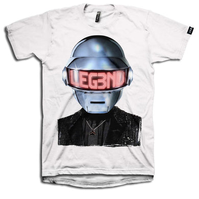 LEG3ND-DAFT PUNK SILVER
