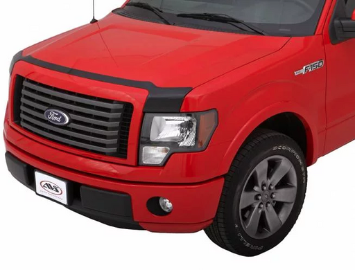 AVS - 322096 - F-150 Low Profile Aeroskin Acrylic Hood Shield - Smoke (15-19)