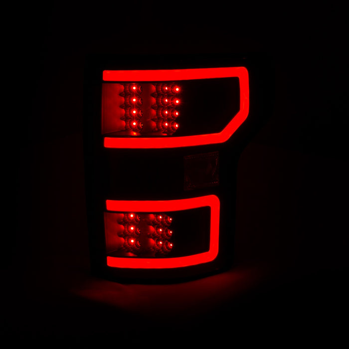 Anzo USA - 321338 - F150 LED Tail Lights Black (18+)
