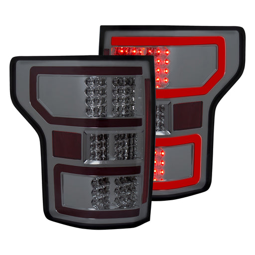 Anzo USA - 321339 - F150 LED Tail Lights Smoke (18+)