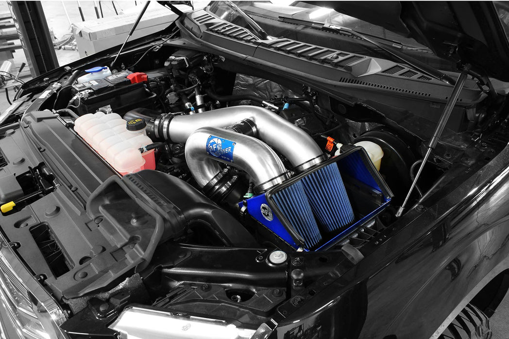 aFe - 52-12642-1H - F150 MagnumFORCE 3.5in Pro 5R Stage-2 Limited Edition Intake 2.7L/3.5L EcoBoost (15-17)