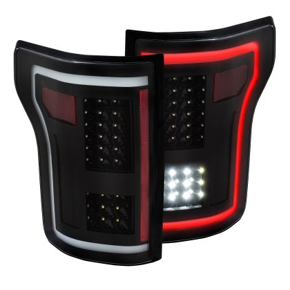 Anzo USA - 311285 - F150 LED Taillights Black (15-19)