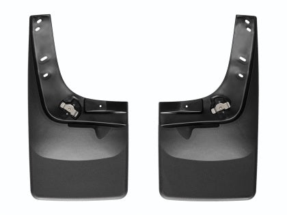 WeatherTech - 53341 - F-150 w/ Fender Lip Molding No Drill Front Mudflaps (15-17)