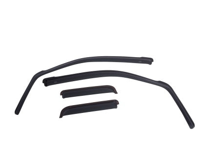 EGR - 573471 - F-150 SuperCab SlimLine In-Channel WindowVisors (15-19)