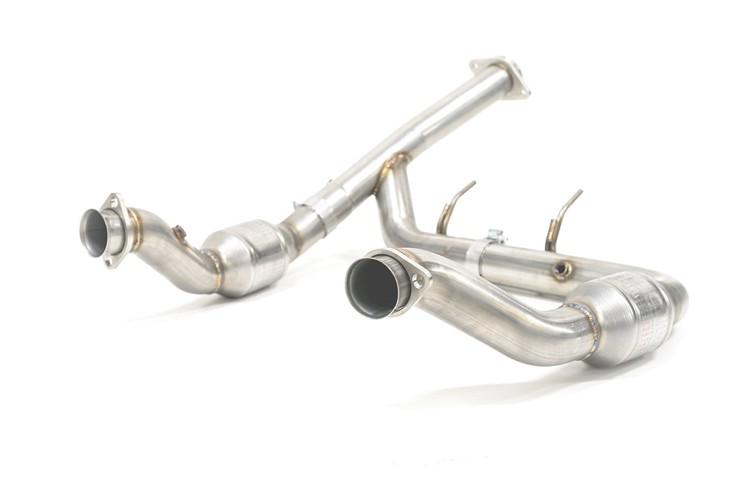 AMS Performance - AMS.32.05.0001-1 - F150 EcoBoost 3.5L 3in Downpipe Kit (15-19)