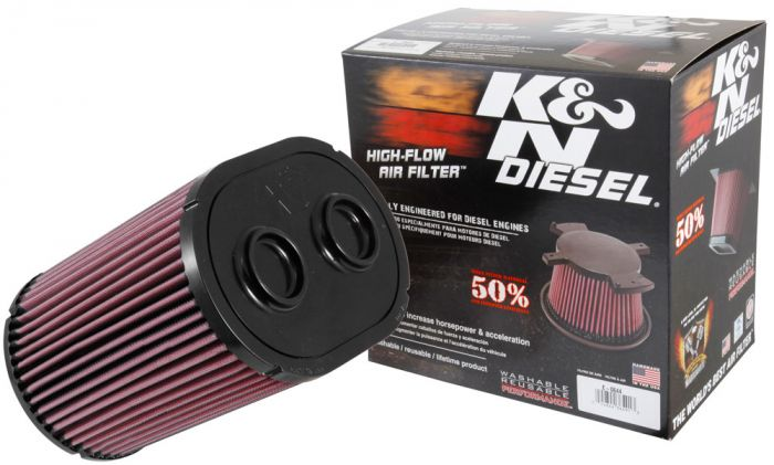 K&N - E-0644 - F250 Super Duty High Flow Air Filter 6.7L (17+)