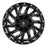 RBP - 65R-2010-70-12BG - F150 65R Glock 20x10 Gloss Black Machined Grooves Wheel