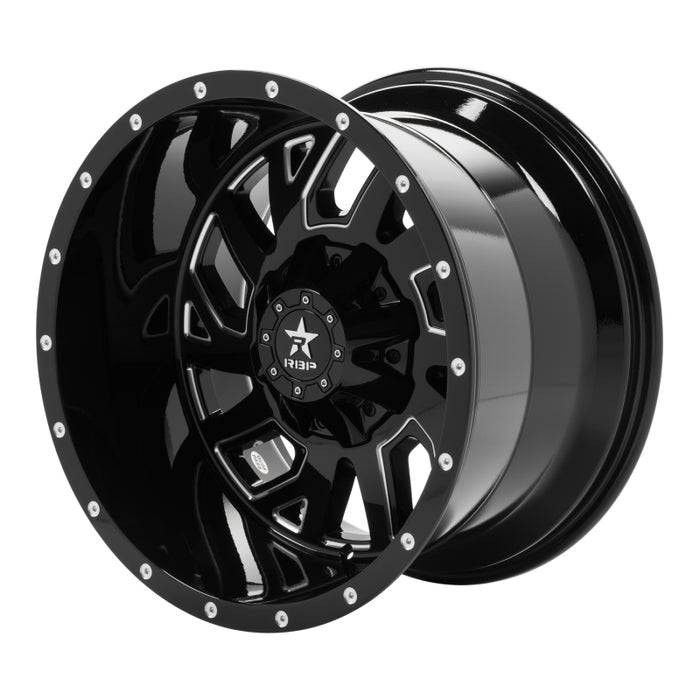 RBP - 65R-2012-70-44BG - F150 65R Glock Gloss Black 6-Lug Wheel (15-20)