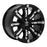 RBP - 94R-1790-70-12BP- F150 94R 17x9.0 Black w/Chrome Inserts Wheel